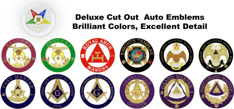 George Lauterer Corporation Auto Emblems Deluxe Cut Out