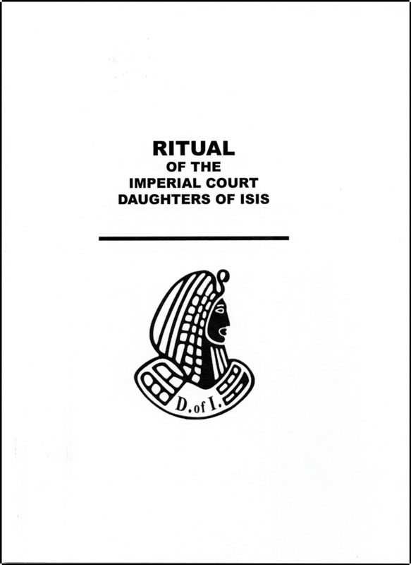 Eb133 Imperial Court Daughters Of Isis Ritual