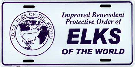 Lk33bd License Plate Ibpoew Elk Buck Amp Doe