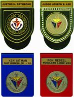 Pocket Badges - Knights of Pythias
