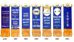 REVERSIBLE RIBBON BADGES