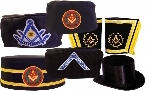 BLUE LODGE HEADWEAR & CUFFS