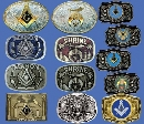 BELT BUCKLES - FRATERNAL
