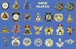 LAPEL PIN EMBLEMS- Cloisonne and Plated