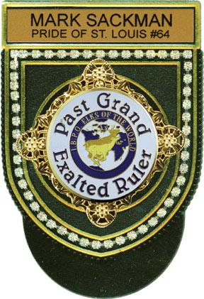George Lauterer Corporation Pocket Badges Elk