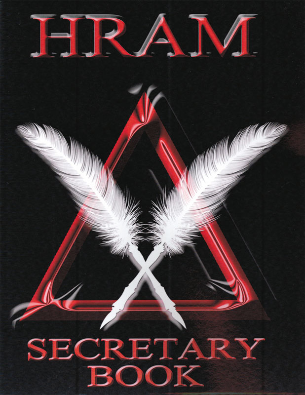 MB493 - Royal Arch Masons HRAM Secretary Book