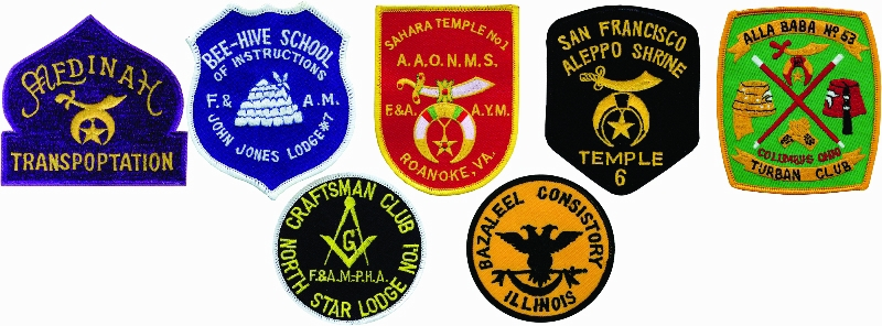 George Lauterer Corporation - PATCHES - Embroidered - Custom