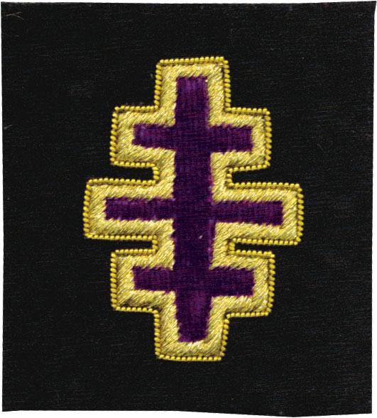 Rkt49 Past Most Eminent Grand Master Gr  Enc  Triple Cross