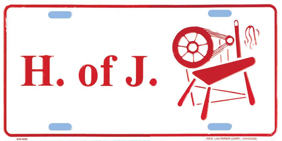 Hj40 License Plate Heroines Of Jericho Hoj