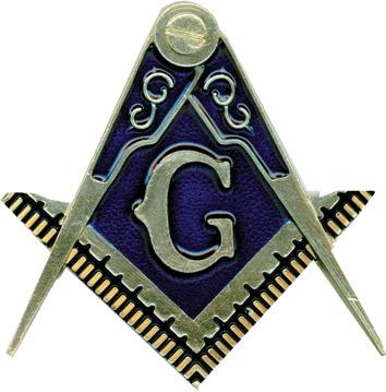 Mm14 Auto Emblem Masonic Cut Out