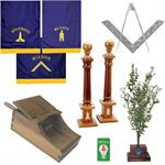 LODGE REGALIA AND TOOLS