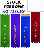 RIBBONS - STOCK