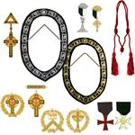 KNIGHTS TEMPLAR COLLARS & JEWELS