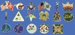 Lapel Pin Emblems - Die Struck
