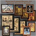 Masonic Wall Plaques, Lecture Charts, Trestle Board