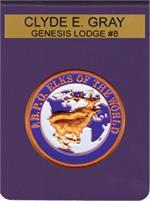 George Lauterer Corporation - POCKET BADGES-ELK