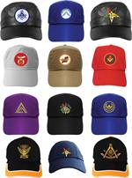 Caps - Baseball Emblematic - Masonic